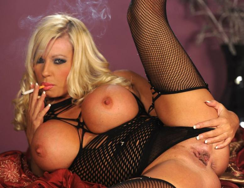 Michelle Thorne corks hardcore smoking sex