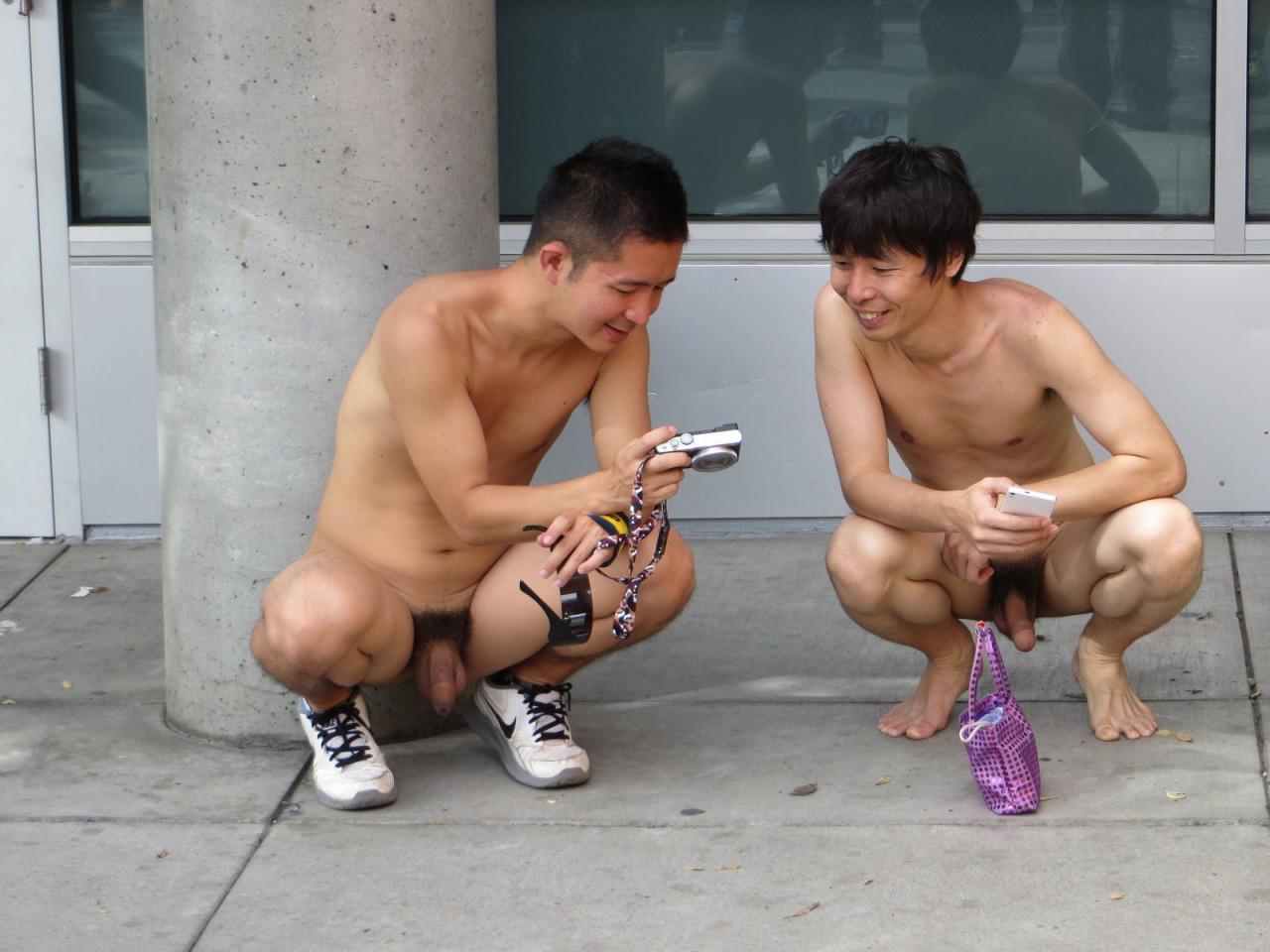 from Kasen gay naked street fun