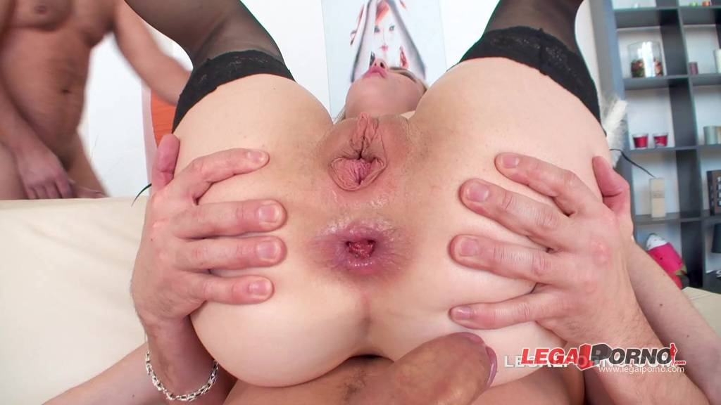[LegalPorno] NEW Giorgio Grandi  Lana Lewis first time in Porn. Intense DP, first DAP, assfucking ball deep and gapes. 3 Swallows. Pussy only for DP GIO137