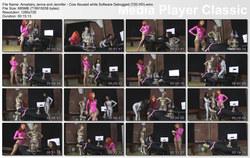 Brat Princess 2: Amadahy Jenna and Jennifer - Cow Abused while Software Debugged (720 HD)