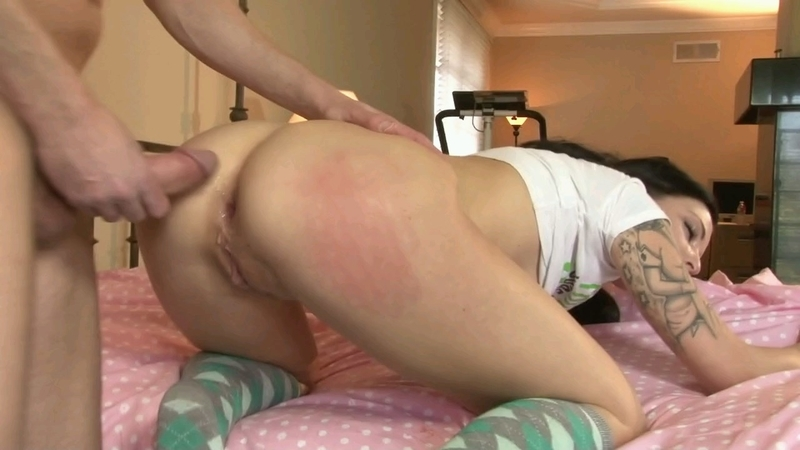 Anal slut aria aspen gets stuffed with a black cock 3