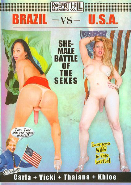 Brazil Vs. U.S.A. - She-Male Battle Of The Sexes (2011)