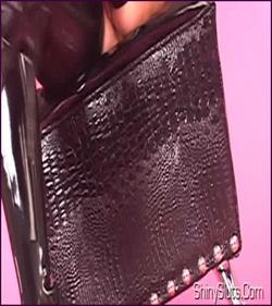 Ava Addams - Purple Skirt