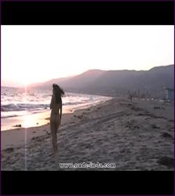 Dakota_Rose_Sunset_at_the_Beach_1