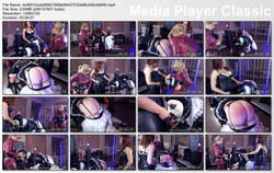 Domina-Bizarre: Lady Mercedes - Rubber Addict - Teil 1