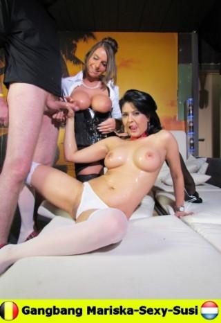 Mariska - Gangbang Mariska en Sexy-Susifront 1080p Cover