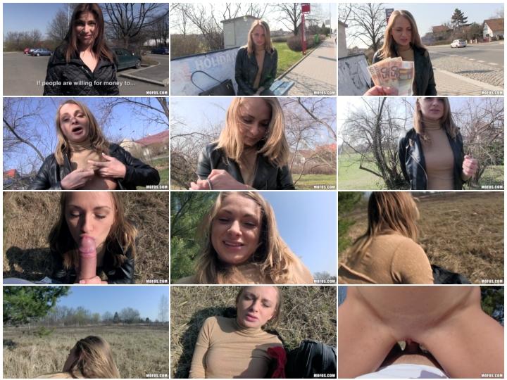 Publicpickups 16 05 13 Ivana Sugar Euro Blonde Licks The Tip 1080p