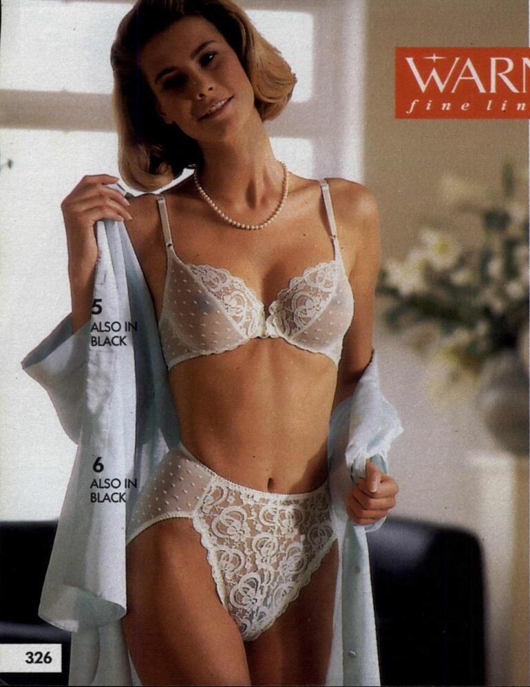 Retro bras and panties
