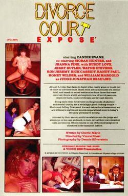 image Divorce court expose 1987