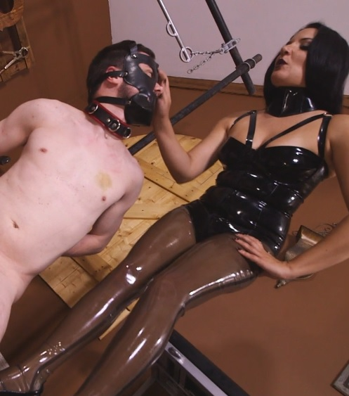Michelle and Tangent's Auction Slave 2: Tug Of Balls