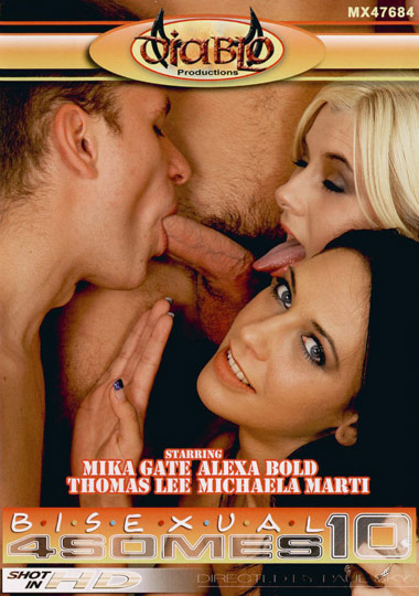 Bisexual 4somes 10 (2008)