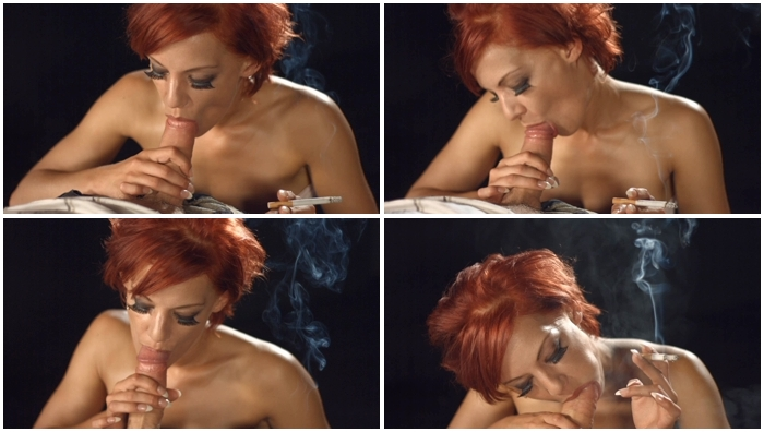 image Ava dalush smokes all whites 120s