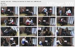 Brat Princess 2: Jennifer and Lola - Milking Cow Overtime for Shock Test (1080 HD)