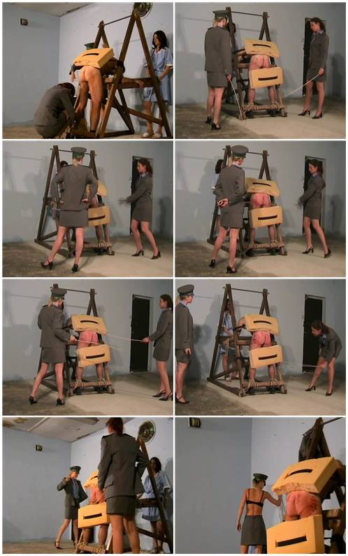 F M Whipping Femdom Caning