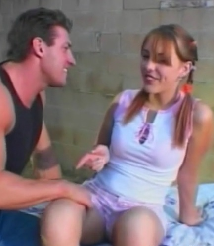 Hot outdoor sex with Nasty babe