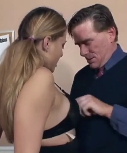 Horny blonde enjoys anal sex