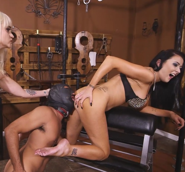 Dahila Rain & Alexis Grace: Ass-Licking Loser