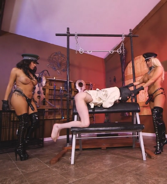 Helpless Fuck-Toy for the Guardesses