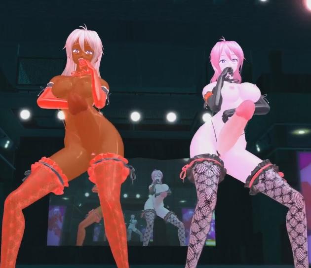 3D MMD Futa Dance