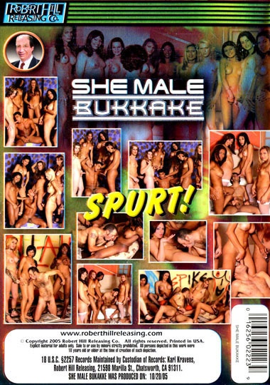 Shemale Bukkake (2005) - TS Veronica Carraro