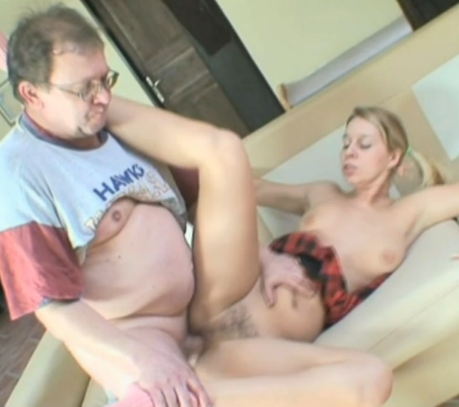 Older Guy Fucked This Not Shaved Pussy