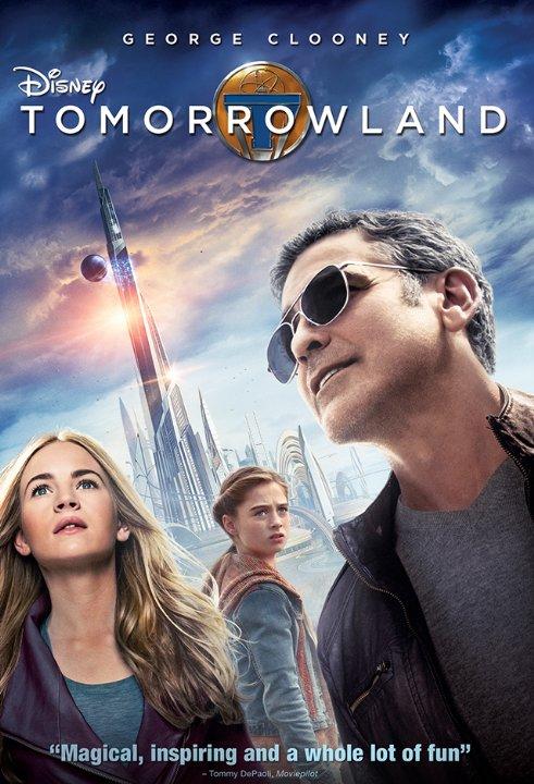 Tomorrowland 2015 DVDRip XviD-EVO