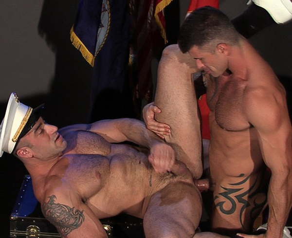 intense extreme gay anal play
