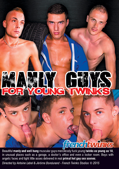 Manly Guys For Young Twinks (2015) - Gay Movies