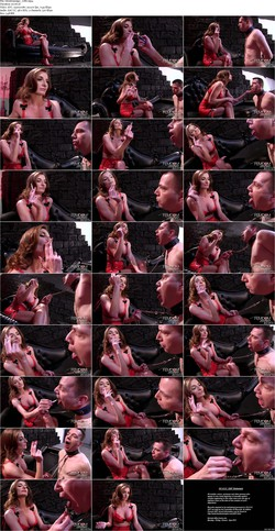 Mistress tangent fills his hungry holes with femdom torment 5
