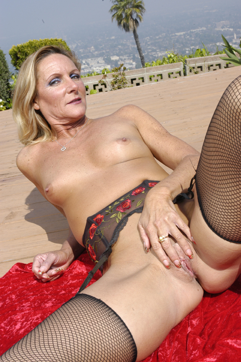 Ginger is a dirty older slut who has spent