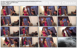 MAGYAR MISTRESS MIRA: NAUGHTY MANIPULATOR - MY SLAVE'S BEST FRIEND  TIGERISH FACE SLAPPING DEAL PART1-2