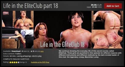 Elite Pain: Life in the EliteClub part 18