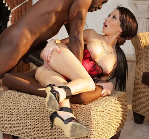 Sandra luberc gangfucked big black cocks at blacks