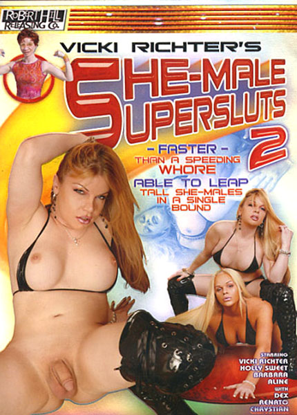 She-Male Supersluts 2 (2007) - TS Vicki Richter