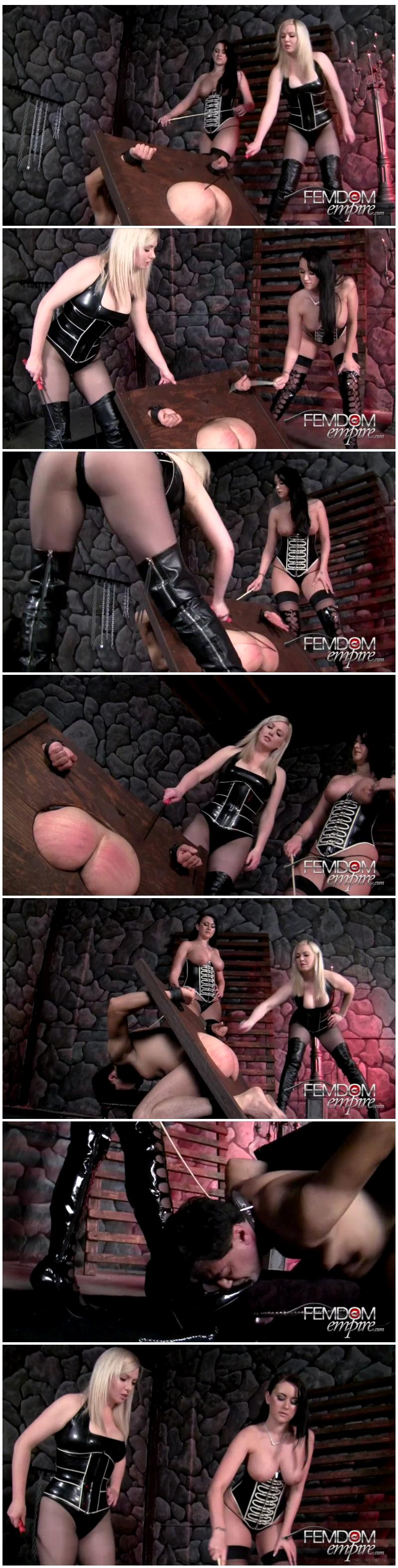 Strap-on dildo mistress sissy stories