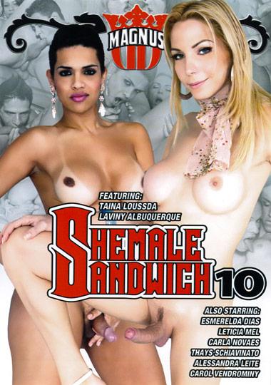 Shemale Sandwich 10 (2011) - TS Carla Novaes