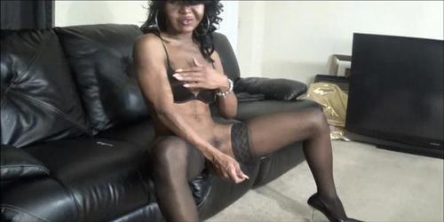 Black Shemale Carmen 24