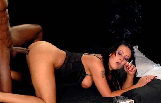 Amber Leigh interracial smoking sex