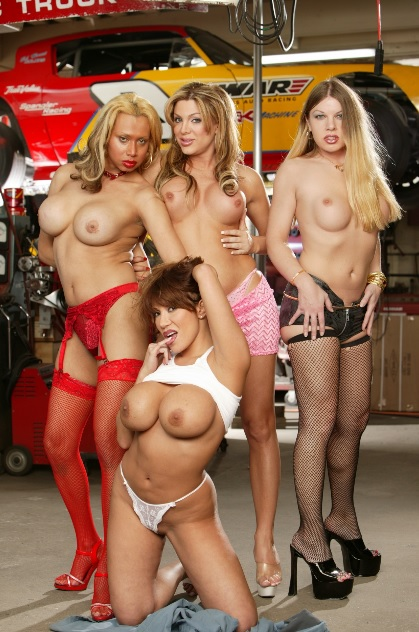 Ava gets 3 T-Girls