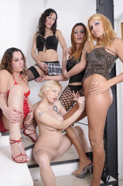 Female Gets Gang Banged