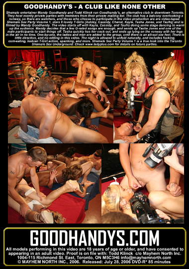 Shemale Sex Party (2006) - TS Kayla Roxx