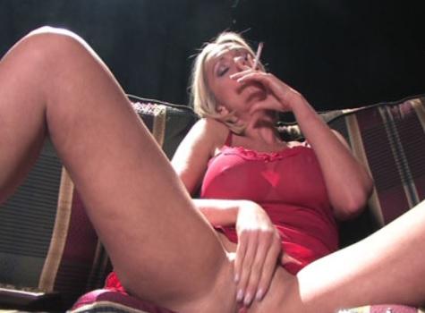 Lucy Zara smoking masturbation
