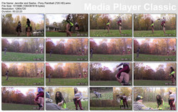 Brat Princess 2: Jennifer and Sasha - Pony Paintball (720 HD)