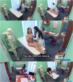 Sexy Nurse Seduces Patient