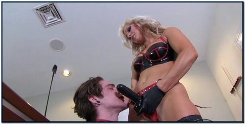 Strapons And Champagne Enemas Female Domination