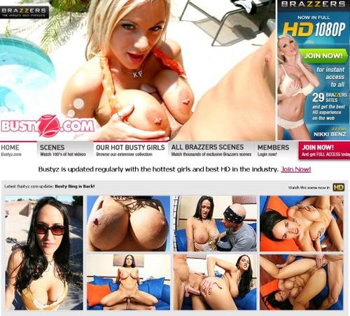 BustyZ.com XXX Siterip Cover