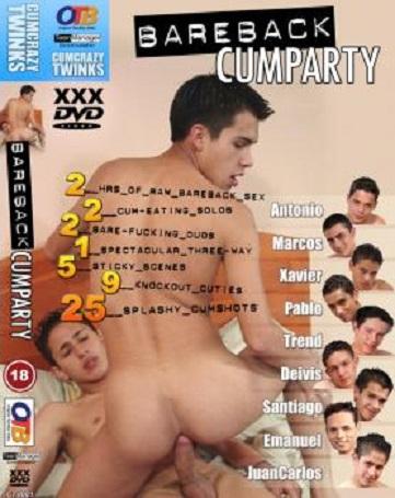 Bareback Cumparty 1 Cover