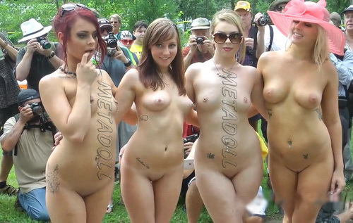 Nudes a poppin 2016 outdoor dancers part 3 10