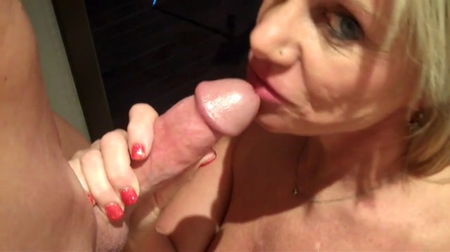 Mature lady rewards boy for cleaning 8