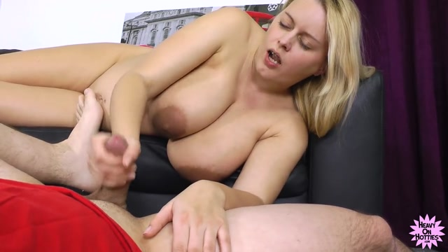 naked blonde girls dildo